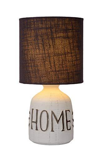 Lucide COSBY - Tischlampe - Ø 16,5 cm - E14 - Weiß