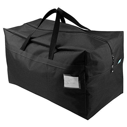 """iwill CREATE PRO BJDFORDE Sac de transport pour articles de décoration et guirlandes, Oxford Textile, Noir pur., 27.5(L)*16.5 (W) *13.8""""(H)"""