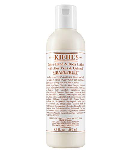 Ki'ehl's Deluxe Hand & Body Lotion With Aloe Vera & Oatmeal - Grapefruit 250ml/8.4oz
