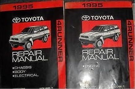 Toyota 4runner 1995 service workshop repair manual pdf | service.