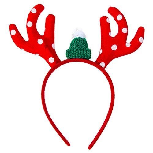 Volwassen Kids Kerstmis Glitter Pailletten Hoofdband Cartoon Kerstman Hoed Rendier Antler Sneeuwvlok Kleurrijke Haar Hoop Party Props D