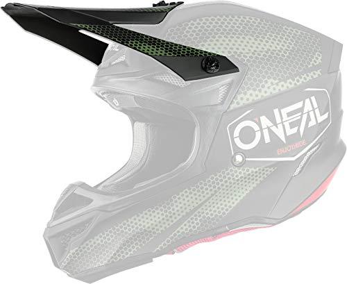 O'NEAL 5 Series Covert Visor Helm Blende Schirm schwarz/grün Oneal