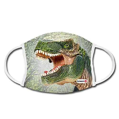 Schleich T-Rex Dino Mund-Nasen-Bedeckung, Weiß