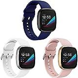 YASPARK Compatible con Fitbit Versa 3 Correa/Fitbit Sense Correa, Silicona Pulsera Deportiva reemplazo Colorido Correa para Fitbit Versa 3/Fitbit Sense