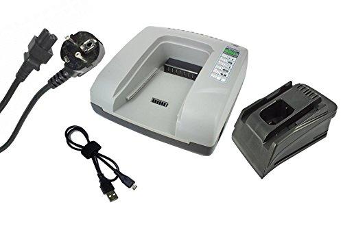 PowerSmart® - Cargador para Hilti TE 6-A Li, TE 6-A36, TE 6-A36-AVR, TE 7-A, WSC 7.25-A, WSC 7.25-A36, WSC 70-A36, WSR 22-A, WSR 36-A, B 22/1.6, B 36/3.0, B 36/6.0, B22/3.3