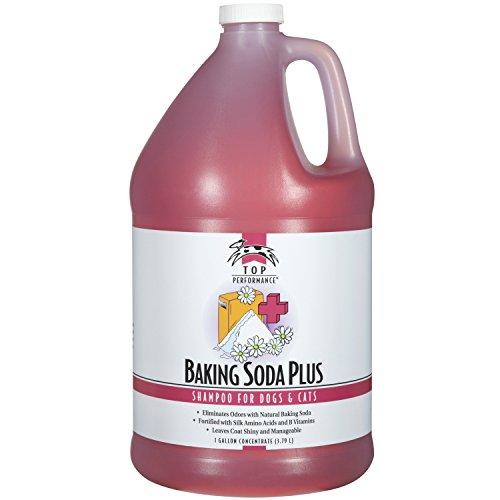 Top Performance Baking Soda Plus Dog and Cat Shampoo, 1-Gallon