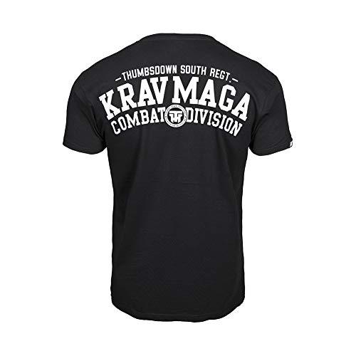 Thumbsdown Pulgares Down Krav Maga Camiseta Combat dyvision. MMA. Gimnasio Entrenamiento. Marcial...