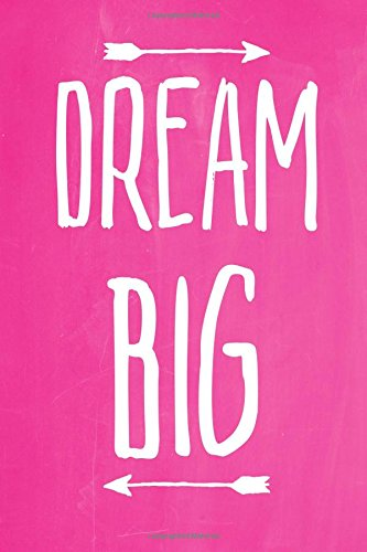 Pastel Chalkboard Journal - Dream Big (Pink): 100 page 6