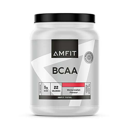 Amazon-Marke: Amfit Nutrition BCAA, Wassermelonen-Geschmack, 500g (ehemals PBN)