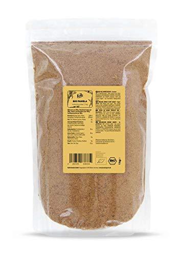 KoRo - Sucre panela bio 1 kg - sucre de canne complet non raffiné de Colombie issu de l'agriculture 100 % biologique