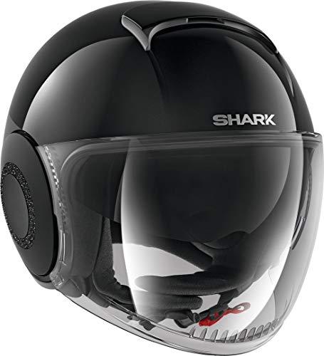SHARK NC, Casco Moto Womens, Nero, S