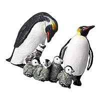 ペンギン家族 ペンギンフィギュア ペンギン模型 海洋動物 インテリア 置物 オブジェ かわいい