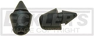 Eckler's Premier Quality Products 55192916 El Camino Fuel Filler Door Bumpers