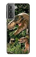 JP145221P トレックス ラプター 恐竜 Trex Raptor Dinosaur Samsung Galaxy S21 Plus 5G, Galaxy S21+ 5G ケース