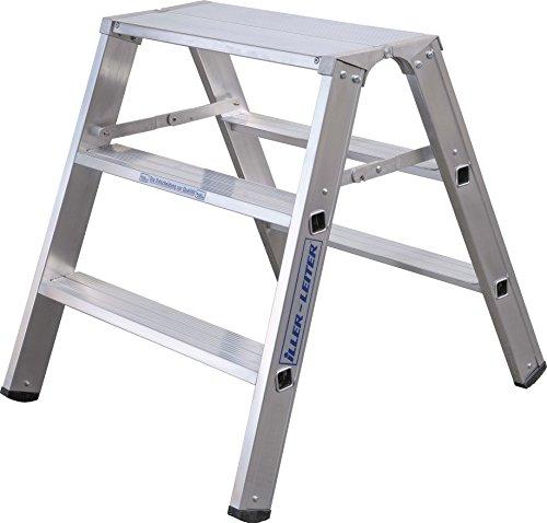 ILLER-LEITER Geis&Knoblauch Alu-Montagebock 70204 2x4 Stufen Sprossenleiter 4039665012994