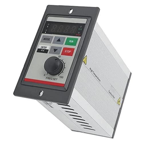 Velocità del motore controller VFD Micro convertitore di frequenza 0.75KW 220V monofase PAM di controllo per strumenti Equipment Factory industriali
