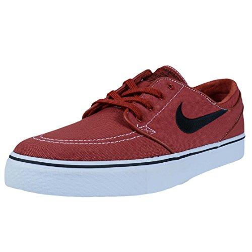 Nike Nike Herren Zoom Stefan Janoski CNVS Skaterschuhe, Rojo (Dark Cayenne/Black-Gum Light Brown-White), 42 EU