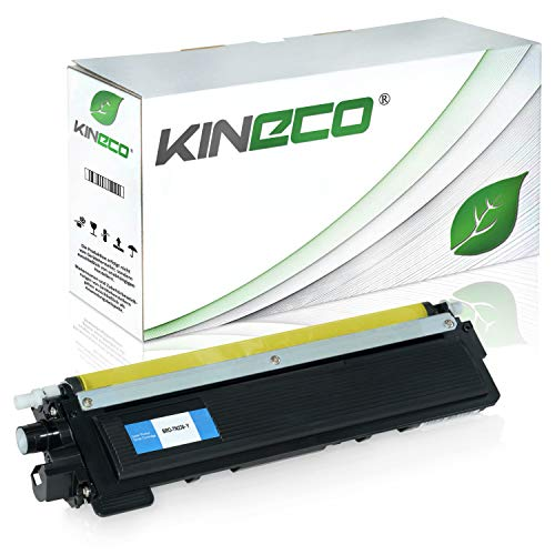 Kineco Toner kompatibel für Brother TN-230 für Brother DCP-9010CN, HL-3040, HL-3045, HL-3070, MFC-9120CN, MFC-9320CW - TN-230Y - Yellow 1.400 Seiten
