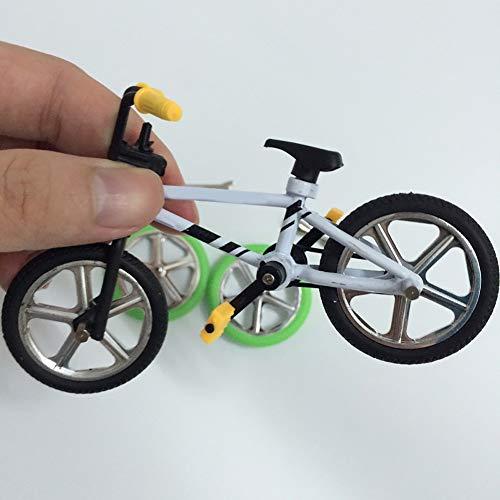 XQxiqi689sy Sport Carino Metallo Mini BMX Finger Mountain Bike Giocattoli Bambini Simulazione Bicicletta Modello