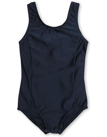 1c2e69baa5ce7 ASHBERRY (アッシュベリー) キッズスクール水着 女の子用 Uカットタイプ UPF50+紫外線