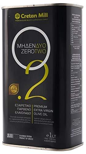 Griechisches Olivenöl 0,2% 3,0l Kanister Cretan Olive Mill | Mildes extra natives Olivenöl von Kreta mit sehr geringem Säuregehalt | Almpantakis Family seit 1866