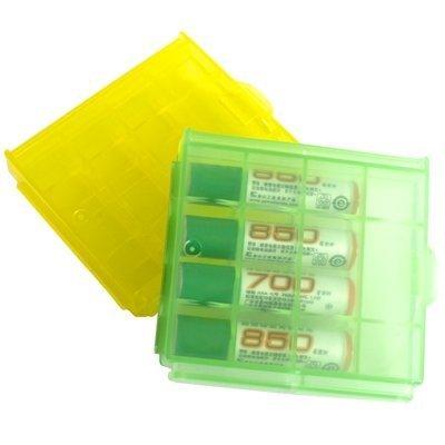 Demarkt 2 Cajas Estuches de Plástico para Pilas y Baterías AA AAA Portapila Recargabl: Amazon.es: Electrónica