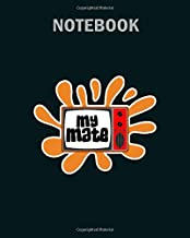 Notebook: my mate television tv - 50 sheets, 100 pages - 8 x 10 inches
