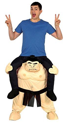 Guirca - volwassenen kostuum Carry Me sumo, maat 52-54 (88284.0)