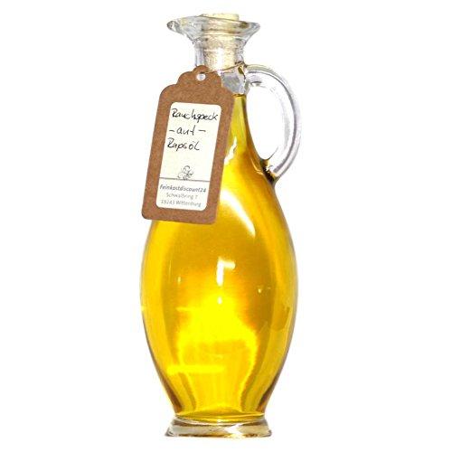 Rauchspeck ÖL | Vegan | 500 ml Ölflasche - Veredeltes Rapsöl