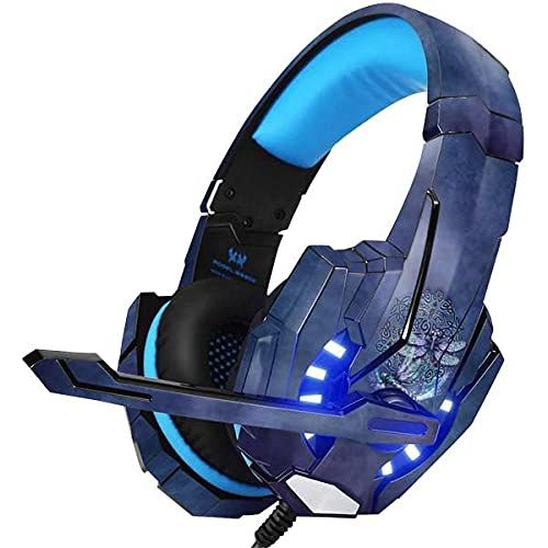 Skinit Decal Skin Compatible with BENGOO G9000 Gaming Headset - Tate and Co. Dragonfly Celtic Knot Design