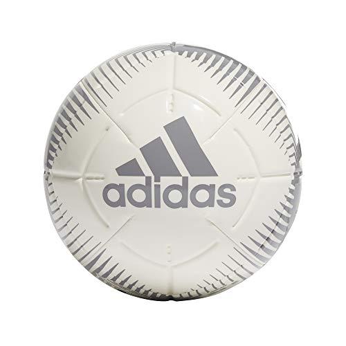 adidas EPP II Club, Pallone da Calcio Unisex Adulto, Bianco/Grigio A Tre, 5