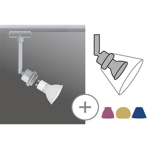 Paulmann 950.19 Stromschienensystem, Metall, GZ10, silber