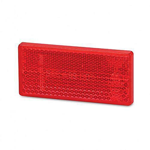 HELLA 8RA 004 412-021 Rückstrahler - Lichtscheibenfarbe: rot - geklebt