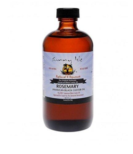 Sunny Isle Castor Oil - Rosemary 235 ml by Sunny Isle
