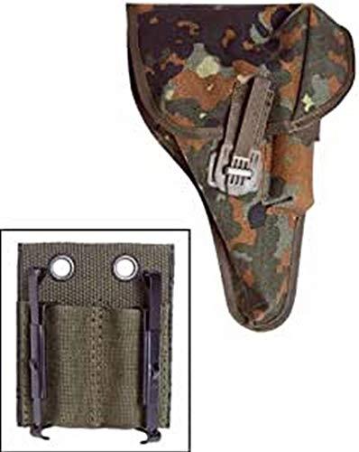 Mil-Tec BW Pist.Tasche P1(P38) FLECKT.M.Adapter