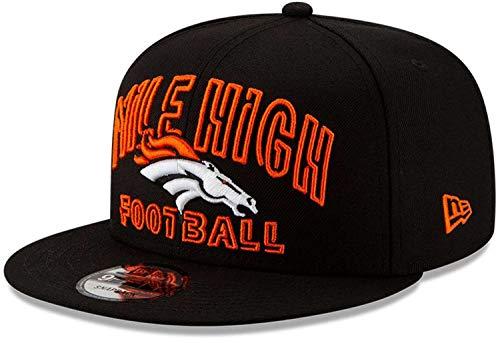 New Era - NFL Denver Broncos 2020 Draft Alternative 9Fifty Snapback Cap - Schwarz Farbe Schwarz, Größe One Size
