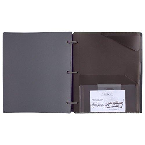 Five Star Flex Hybrid NoteBinder, 1 Inch Binder with Tabs, Notebook and 3 Ring Binder All-in-One, Geo (29148BQ7) Photo #6