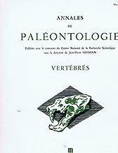 annales de paleontologie /tome 62-fascicule 2/vertebres