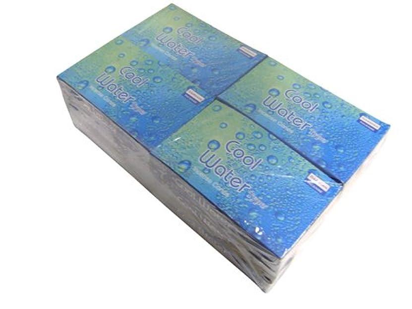 疲労パック取り壊すDARSHAN(ダルシャン) クールウォーター香 コーンタイプ COOL WATER CORN 12箱セット