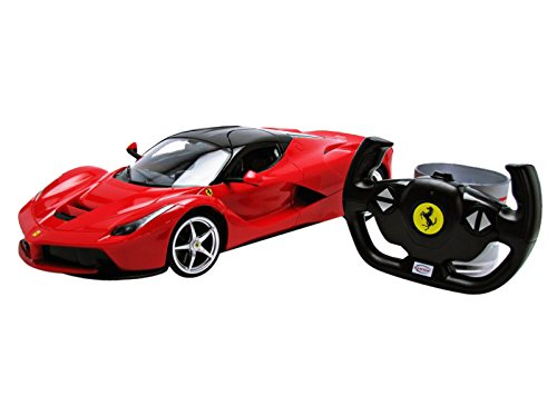 RASTAR 1:14 Scale 1:14 Ferrari LaFerrari Full Function Remote Controlled Car (Assorted Colours May Vary)