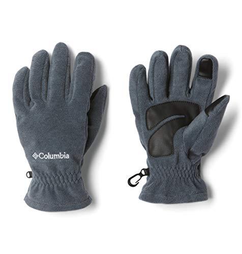 Columbia Guantes para hombre, M Thermarator Glove, Poliéster, Gris (Graphite), Talla L, 1827781