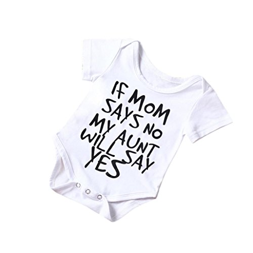 TIFENNY Clearance Baby Boy Girl Cotton Romper Jumpsuit Bodysuit Kids Clothes Outfit (18/24M)
