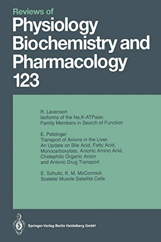 Reviews of Physiology, Biochemistry and Pharmacology: Volume: 123