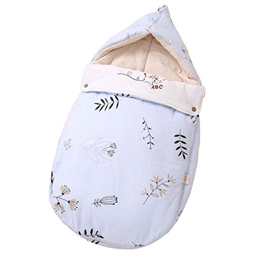 Sytps Winter Verdikte Gewatteerde Baby Slaapzak Swaddle Warm Winddicht Pasgeboren Envelop Kinderen Slumber Bag