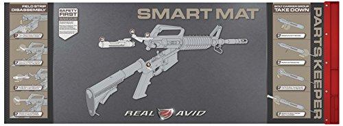RealAvid Unisex-Adult Real AVID AR15 Smart Mat, Black, no Size