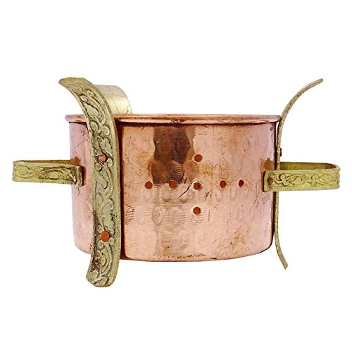 Traditional Indian Sigdi Angeethi Food Warmer Kitchenware Hotelware Tableware