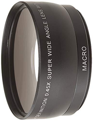 classement un comparer Objectif de conversion grand angle standard 58 mm 0,45x + macro Canon / Nikon /…
