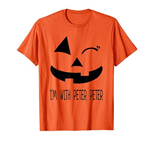 Peter Peter Pumpkin Eater Wife Couples Costume T-shirt