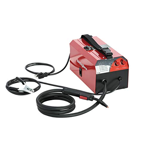 KICKINGHORSE F130 UL-Certified Flux Core Gasless MIG Welder 120V. 130A Highest Efficiency 40K Hz IGBT Inverter Run-off US Home 15/20A Breaker. Ideal for Beginners and Home Maintenance/Auto Repair