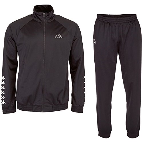 Kappa Herren Till Trainingsanzug, Black, M